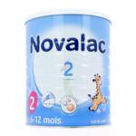 Acheter NOVALAC 2 Lait en poudre 2ème âge B/800g* à FESSENHEIM