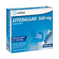 Efferalgan 500 mg Glé en sachet Sach/16 à FESSENHEIM