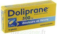 DOLIPRANE 500 mg Gélules B/16 à FESSENHEIM