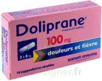 DOLIPRANE 100 mg Suppositoires sécables 2Plq/5 (10) à FESSENHEIM
