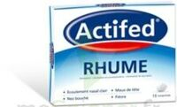 ACTIFED RHUME, comprimé à FESSENHEIM