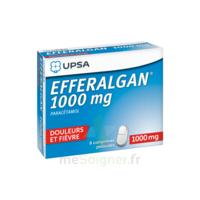 Efferalgan 1000 mg Comprimés pelliculés Plq/8 à FESSENHEIM