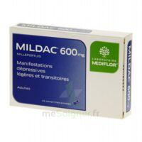 MILDAC 600 mg, comprimé enrobé à FESSENHEIM