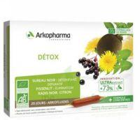 Acheter Arkofluide Bio Ultraextract Solution buvable détox 20 Ampoules/10ml à FESSENHEIM