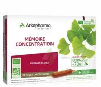 Arkofluide Bio Ultraextract Solution buvable mémoire concentration 20 Ampoules/10ml à FESSENHEIM