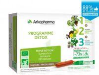 Arkofluide Bio Ultraextract Coffret programme détox 3x10 Ampoules/10ml à FESSENHEIM