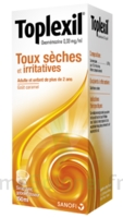 TOPLEXIL 0,33 mg/ml, sirop 150ml à FESSENHEIM