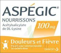 ASPEGIC NOURRISSONS 100 mg, poudre pour solution buvable en sachet-dose à FESSENHEIM
