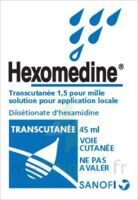 HEXOMEDINE TRANSCUTANEE 1,5 POUR MILLE, solution pour application locale à FESSENHEIM