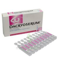 DACRYOSERUM Solution pour lavage ophtalmique en récipient unidose 20Unidoses/5ml à FESSENHEIM
