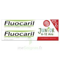 Fluocaril Junior Gel dentifrice Fruits rouges 6/12ans 2*75ml à FESSENHEIM