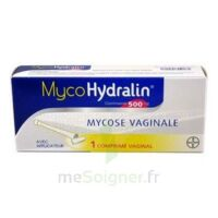 MYCOHYDRALIN 500 mg, comprimé vaginal à FESSENHEIM