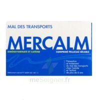 MERCALM, comprimé pelliculé sécable à FESSENHEIM