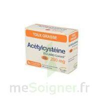ACETYLCYSTEINE EG 200 mg, poudre pour solution buvable en sachet-dose à FESSENHEIM