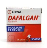 DAFALGAN 500 mg Gélules 2plq/8 (16) à FESSENHEIM