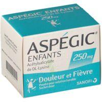 ASPEGIC ENFANTS 250, poudre pour solution buvable en sachet-dose à FESSENHEIM