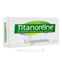 TITANOREINE Suppositoires B/12 à FESSENHEIM