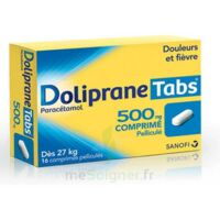 DOLIPRANETABS 500 mg Comprimés pelliculés Plq/16 à FESSENHEIM