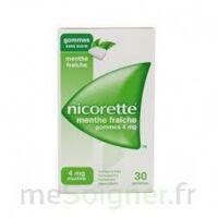 NICORETTE 4 mg Gom à mâcher médic sans sucre menthe fraîche Plq/30gom à FESSENHEIM