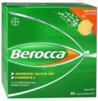 Berocca Comprimés effervescents sans sucre T/60 à FESSENHEIM