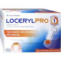 LOCERYLPRO 5 % V ongles médicamenteux Fl/2,5ml+spatule+30 limes+lingettes à FESSENHEIM